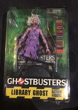 Library Ghost 7 inch Action Figure, Ghostbusters collectible figure, Diamond Select Toys for Sale in Queens, NY