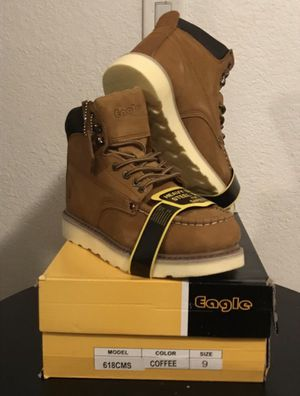 EAGLE Work Boots with Steel Toe NEW! for Sale in Glendale, AZ