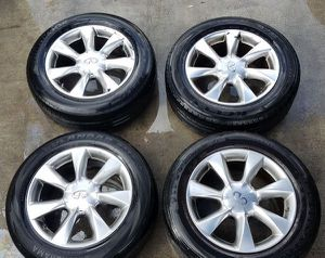 "2008 2009 2010 2011 2012 2013 2014 2015 INFINITI EX35 EX37 QX50 17"" INCH WHEELS RIMS WITH TIRE for Sale in Fort Lauderdale, FL"