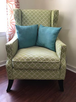 Green chair for Sale in Otsego, MI