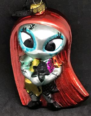 2017 Nightmare Before Christmas Sally Glass Ornament for Sale in Spring Valley, CA