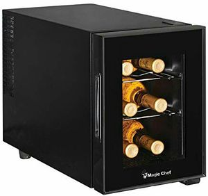 Magic Chef MCWC6B 6-Bottle Black Wine Fridge for Sale in Bethesda, MD
