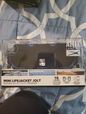 ALTEC LANSING bluetooth speaker for Sale in Anchorage, AK