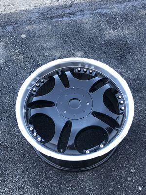 20 inch black rims/wheels for Sale in Irvine, CA