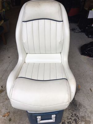 Deluxe Boat Seat with mount for Sale in Tacoma, WA