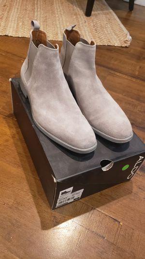 ALDO Vianello - Grey Suede Chelsea Boots | SZ 10 US for Sale in E RNCHO DMNGZ, CA