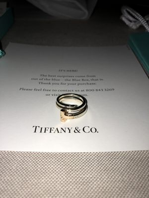 Tiffany & Co. size 5 Square Wrap Ring for Sale in Carle Place, NY