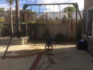 Kids Lifetime 10-Foot Swing Set, play set,playhouse for Sale in El Monte, CA