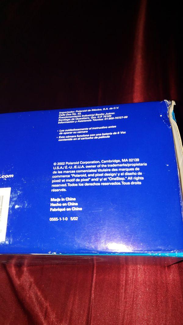 POLAROID INSTANT 1 STEP EXPRESS CAMERA + 1 FREEEE FILM 2!!!!!!!!!!!!!!