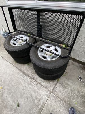 Truck Tires and Cargo Carrier hitch for Sale in San Diego, CA