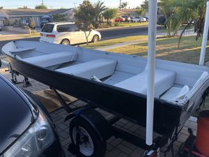 14' Sea Nymph Aluminum fishing boat in great condition for Sale in Cypress, CA