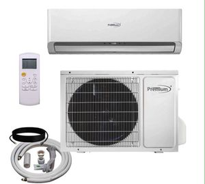 Premium Mini Split 9,000 BTU Air Conditioner With Installation Kit Aire Acondicionado Split con kit de Instalación PAC9337 for Sale in Miami, FL