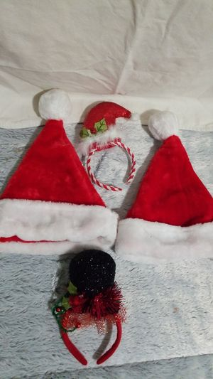 Childrens Christmas hat and headbands for Sale in Los Angeles, CA