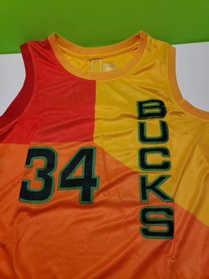 NBA Milwaukee Bucks 34 Giannis Antetokounmpo Jersey Size L 50 for Sale in Reinholds, PA