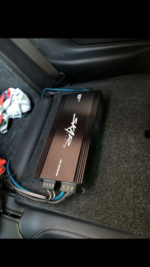 SKAR audio RP-1500.1D 1500w rms amp Also comes with the bass knob for Sale in Humble, TX