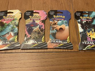 Pokémon Team-Up Booster Packs Sealed for Sale in Warwick,  RI