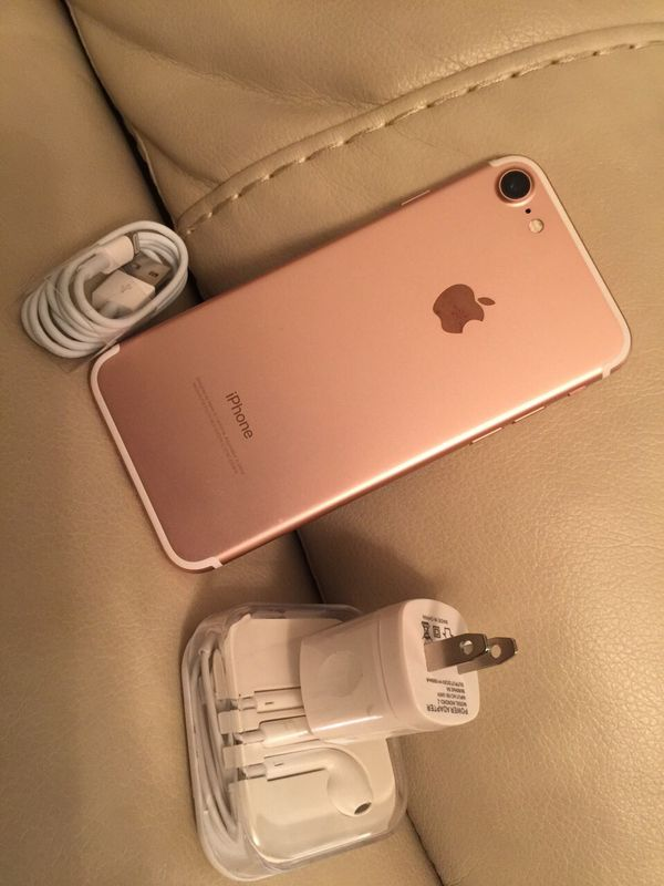 iPhone 7, 128GB - excellent condition, factory unlocked, clean IMEI