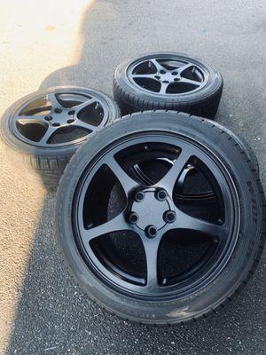 Black C5 Corvette Y2K Wheels Rims Tires Factory OEM for Sale in Inglewood, CA