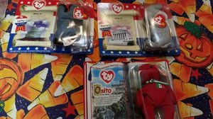 Osito, Righty and Lefty Ty beanie babies NEW for Sale in Virginia Beach, VA