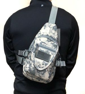 Brand NEW! Grey Digital Small Crossbody/Side Bag/Sling/Satchel/Pouch For Sports/Outdoors/Traveling/Hunting/Fishing/Camping/Work/Outdoors/Gym for Sale in Torrance, CA