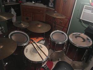 Tama super star drum set sun burst color for Sale in Tampa, FL