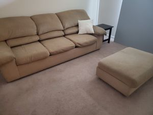 Sofa set w/ ottoman for Sale in West Columbia, SC