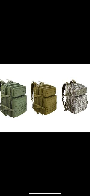 ROORO Military Tactical Backpack Large 50L Army 3 Day Assault Pack Army Rucksack for Outdoor Sports,Hiking,Trekking,Camping,Hunting,Molle Bug Out Bag for Sale in Menifee, CA