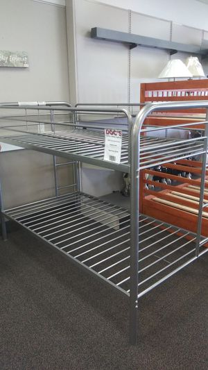 New Metal Twin/Twon Bunk Bed for Sale in West Columbia, SC