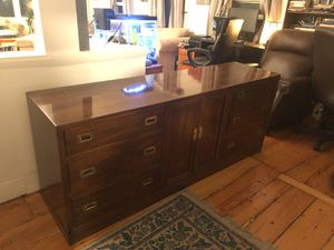 High quality bureau - polished finish, real wood for Sale in Boston, MA
