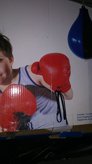 Kids speed punching bag for Sale in Stockton, CA