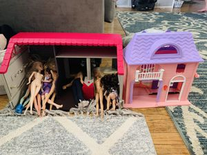 Barbies and doll house for Sale in Sacramento, CA