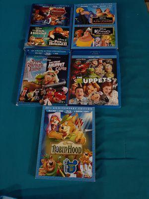 Disney kid movies blue ray DVDs for Sale in San Bernardino, CA