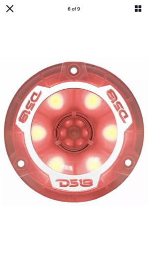 "DS18 PRO-TW1L 1"" Super Bullet Tweeters 400W 4 Ohm Car Audio TW120 RGB LED Pair for Sale in Phoenix, AZ"