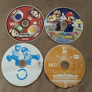 Mario Wii Games for Sale in Fort Lauderdale, FL
