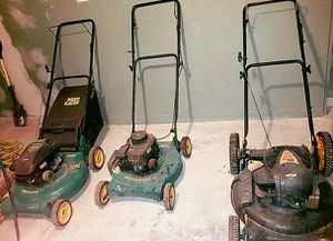 3 Push Lawn Mowers for Sale in Aberdeen, MD