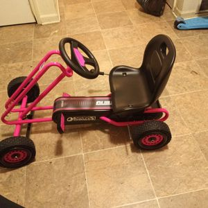 Hauck (Pink) Go Cart Bicycle for Sale in Detroit, MI