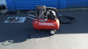 Power force 10gal 2hp compressor for Sale in Everett, WA