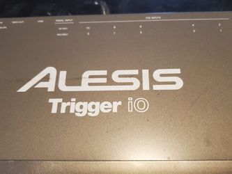 Alesis Trigger|iO Trigger-to-MIDI/USB Interface for Sale in Quincy,  MA
