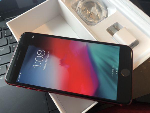 iPhone 8 plus (8+), 64GB - excellent condition, factory unlocked, clean IMEI