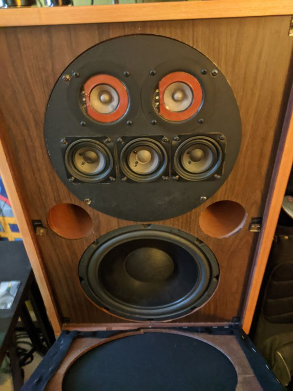 Vintage Marantz Imperial 8 Speaker set w/ stands