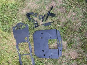 Rough country plates for Jeep tire holder for Sale in Scottsville, VA