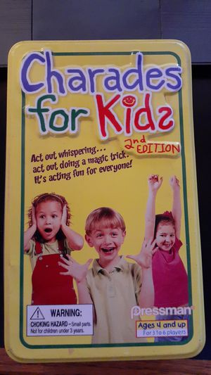 Children's Charades for Kids game for Sale in Bernalillo, NM