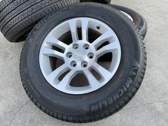 "18"" Chevy Silverado Wheels Tires Tahoe Suburban GMC Sierra Yukon Rims for Sale in Rio Linda,  CA"