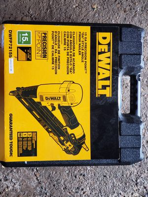 Dewalt finishing nail gun for Sale in Washington, DC