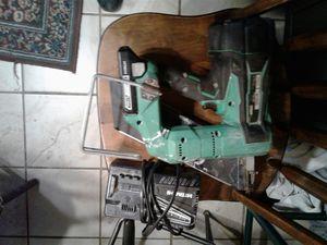 Hitachi 18 volt battery powered nail gun for Sale in St. Louis, MO