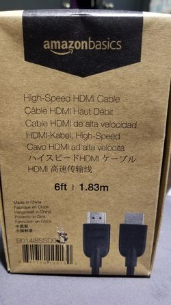High-Speed 4K HDMI Cable - 6 Feet for Sale in South Gate,  CA