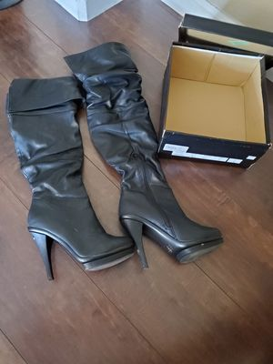 Black Heeled Boots for Sale in Fresno, CA