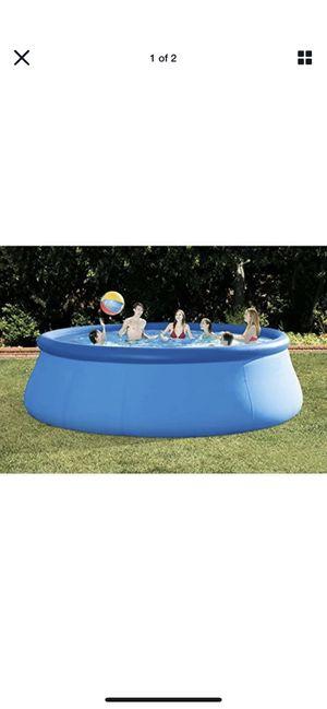 "Intex 15"" x 48"" pool for Sale in Revere, MA"