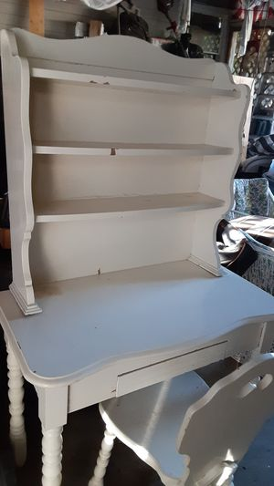 Antique computer desk with chair for Sale in Escondido, CA