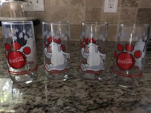 4 Coca Cola 1999 , dated glasses for Sale in Garland, TX
